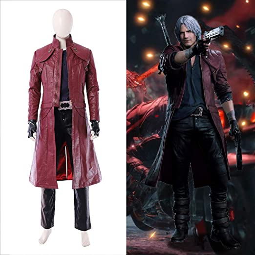 Rubyonly DMC Devil May Cry 5 de Vestuario Dante Cosplay Deluxe ...