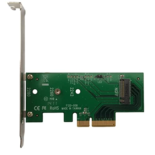 Lycom DT-120 M.2 Interface Card and Adapter – Accessory (PCIe, M.2, Low Profile, -40 – 80°C)