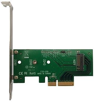 LyCOM DT-120 Tarjeta y Adaptador de Interfaz M.2 Interno - Accesorio (PCIe, M.2, Perfil bajo, PCIe 3.0, -40-80 °C)