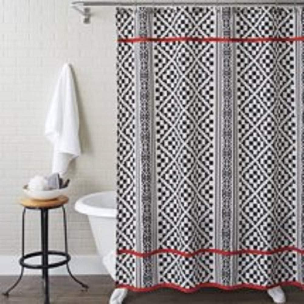 Better Homes & Gardens Aztec Diamonds Shower Curtain