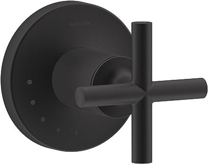 Kohler T14490 3 Bl Purist Shower Valve Trim Matte Black Tub And