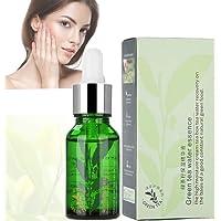 Skin Care Serum, 15ml Face Serum, Green Tea Seed Essence Serum, Moisturizing Shrink Pores, Night Care and Repair, f?r…