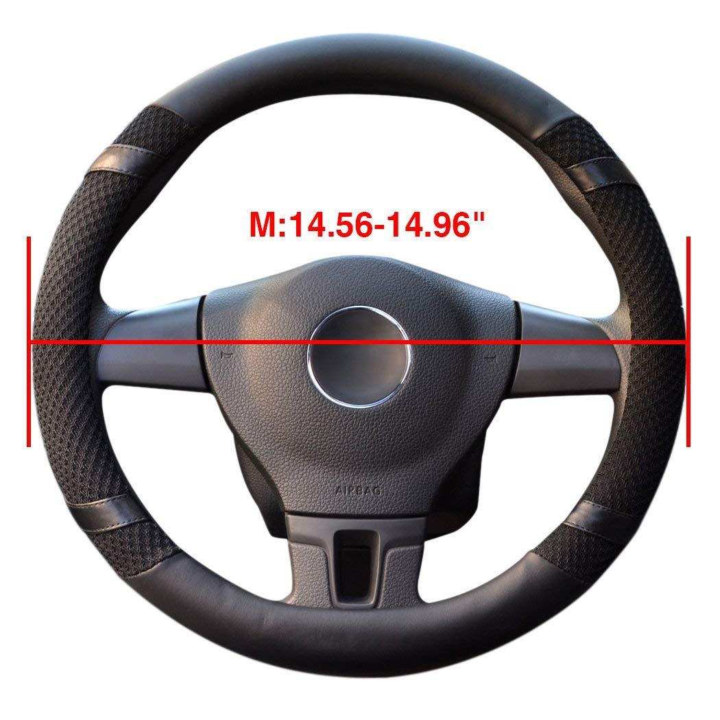 Universal Steering Wheel Cover,14.56-14.96\