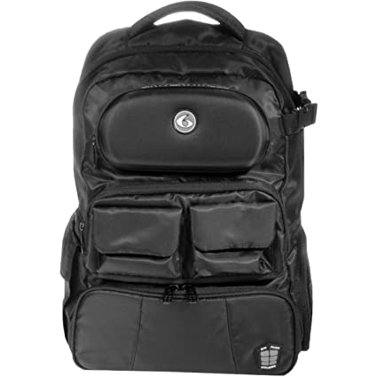 2463e286ad7f Image Unavailable. Image not available for. Color  6 Pack Fitness Mach 6  Athletic Backpack - Stealth Black