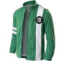 HAOCOS Kids Adult Tennyson Alien Swarm Ryan Kelly Green Synthetic Jacket T-Shirt