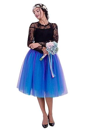 Señoras del Swing Princesa Falda Plisada Retro Vestido Enagua Mode ...
