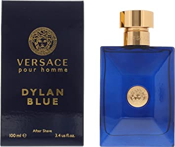 d54a427fa05 Versace Pour Homme Dylan Blue 100ml Mens Aftershave Lotion With Gift ...