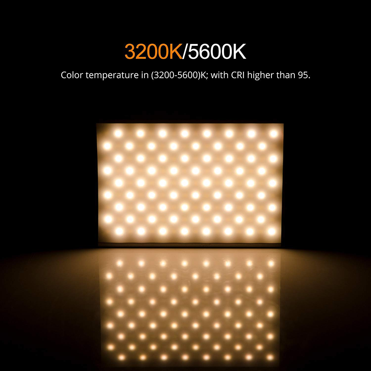 LED Light Photography Tolifo Pt-15b LED Video Light Lamp Panel LED Camera Light With Mini Size for DSLR And Camcorder Ultra Thin Aluminum Alloy with Adjustable Color Temperature 3200K-5500K