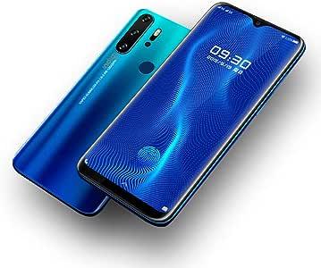 Mega 6.3 Pulgadas Gota de Agua Full Face Display Android 4G Smartphone gsm Desbloqueado – Compatible con AT&T T-Mobile Ocean Cian: Amazon.es: Electrónica