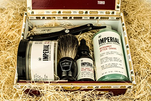 The Frontiersman: Straight Razor Shaving Kit
