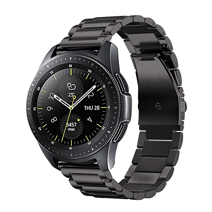Fintie Bracelet pour Samsung Galaxy Watch 42mm/ Galaxy Watch Active/Huawei Watch 2/ Gear S2 Classic: Amazon.fr: High-tech