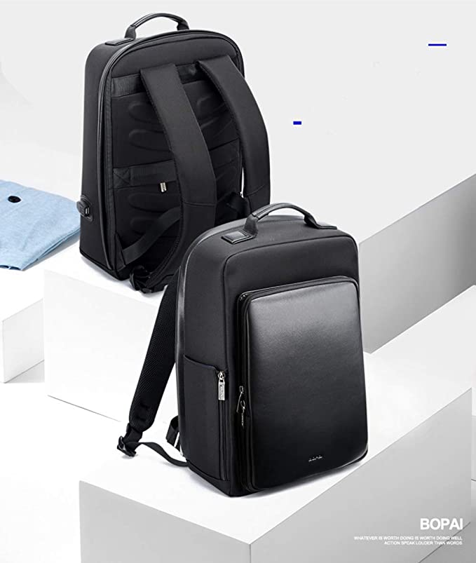 Amazon.com: ROOKLY Laptop Backpack15.6 Inch Computer Bag Water-Repellent Casual Daypack with USB Charging Port for College/Travel/ Business/Women/ Men: ...