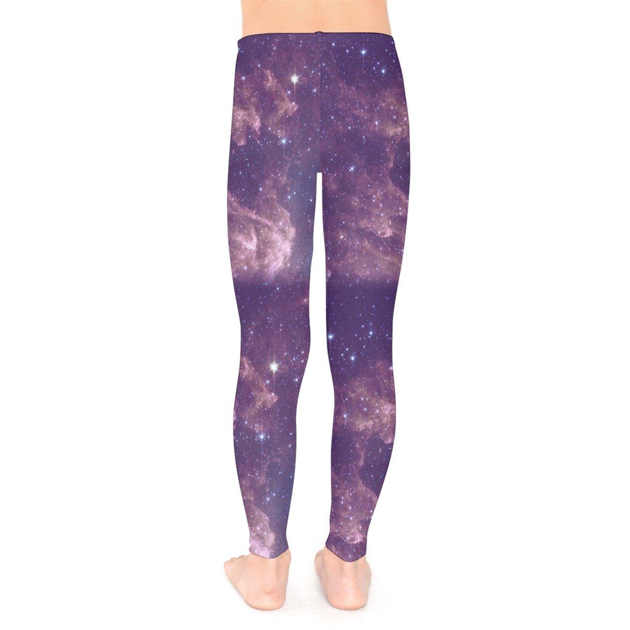 7f616aa716c9c PattyCandy Galaxy Celestial Night Sky Pattern Unisex Little & Big Kids Long  Stretch Leggings,Size:2-16 Navy: Amazon.ca: Clothing & Accessories