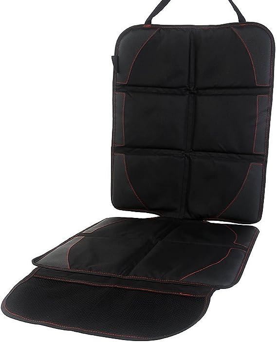 Kindersitzunterlage Cozyswan Autositzunterlage In Universeller Passform Mit Praktische Steckfächer Auto