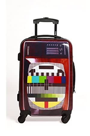 fafb6ff4f64fda Tokyoto Ryanair / Easyjet Hand Luggage / Cabin Suitcase Trolley, TV Set,  Cabin size: Amazon.co.uk: Sports & Outdoors