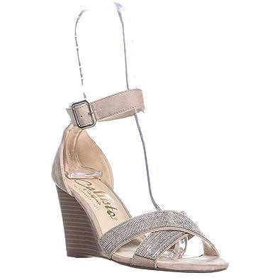 ba3f17e910d9 Callisto Montana Ankle Strap Wedge Sandals