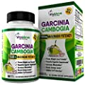 Outstanding 95% HCA Pure Garcinia Cambogia 1500mg Maximum Potency Available. Extreme Weight Loss Supplement & Fat Burning Diet Pills + Carb Blocker. Non-GMO Gluten Free - 100% Money Back Guarantee.