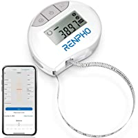 Smart Tape Measure Body with App - RENPHO Bluetooth Measuring Tapes for Body Measuring, Weight Loss, Muscle Gain…