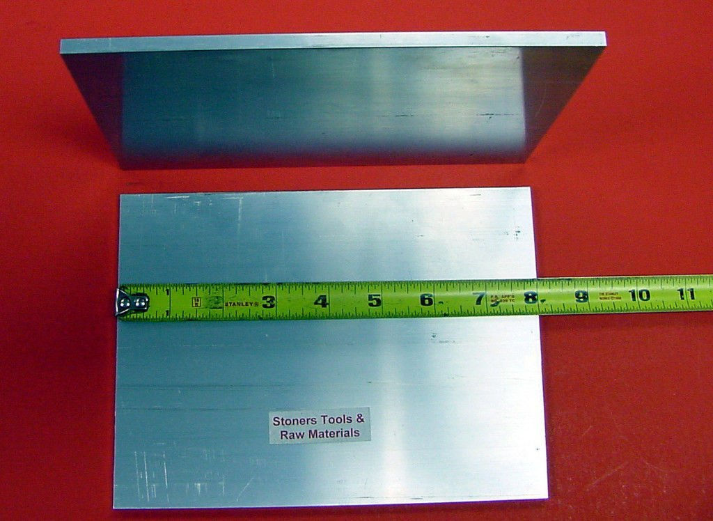 "2 Pieces 1//4/"" X 6/"" ALUMINUM 6061 FLAT BAR 6/"" long .250/"" T6511"