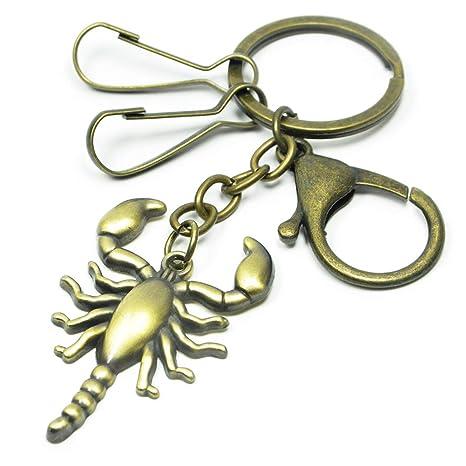 Amazon.com: Llavero de bronce, bolso de mano, adorno de ...