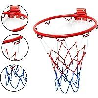 Nolonger Basketball Hoop Kit with Outdoor Net for Almost Weather, Fits Standard Indoor or Outdoor Basketball Hoop
