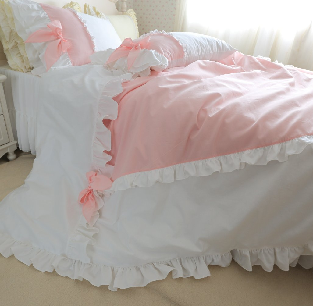 Souvent Amazon.com: FADFAY Girls Korean Kawaii Bedding Set Princess Cute  PW07