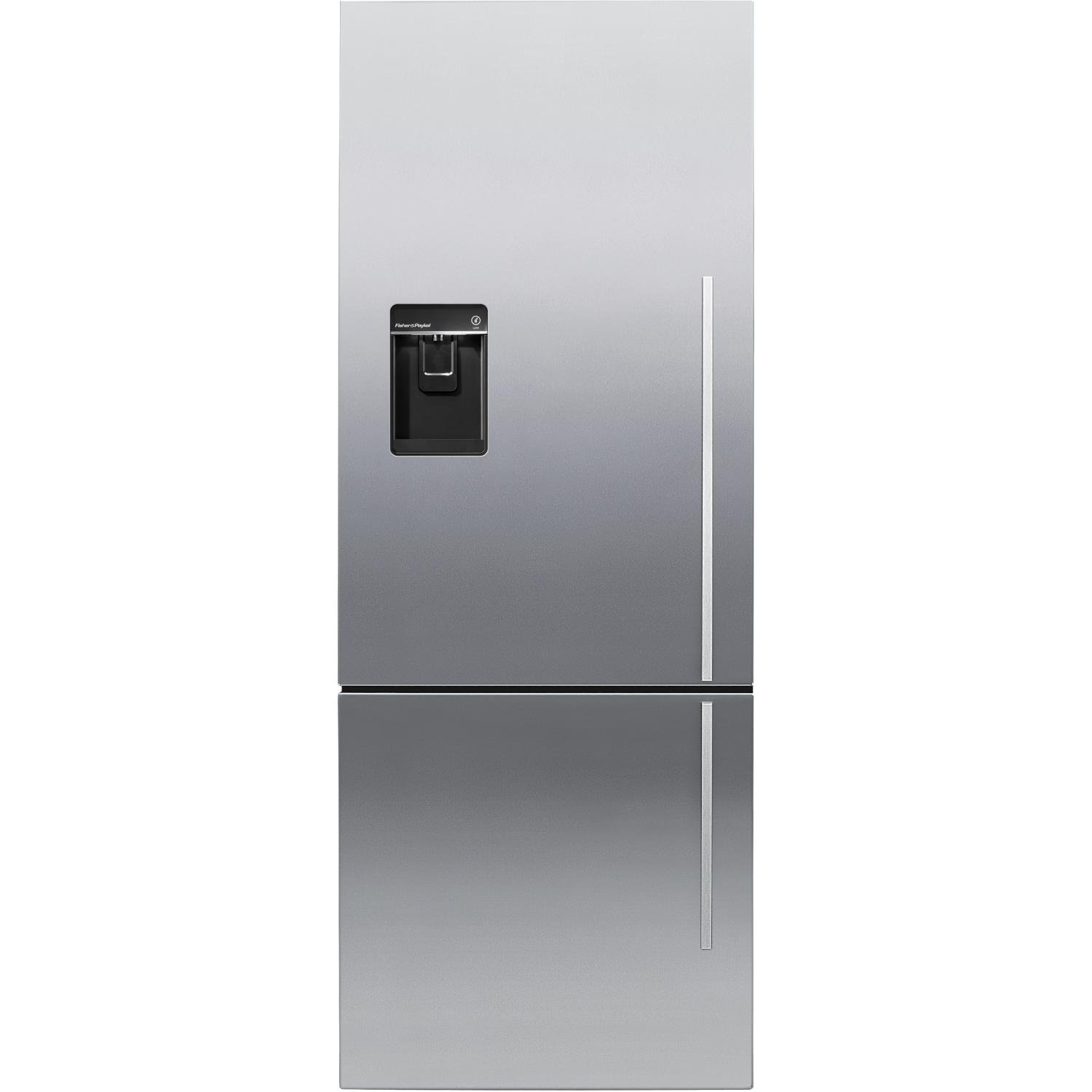 Amazon.com: Fisher Paykel RF135BDLUX4  13.5 Cu. Ft. Capacity Left Hinge  Counter Depth Bottom Freezer Refrigerator In Stainless Steel: Appliances