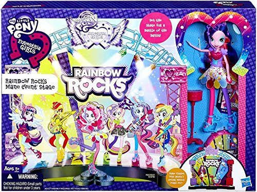 My Little Pony Equestria Girls Battle of the Bands Stage by My Little Pony