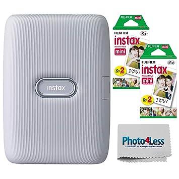 Fujifilm Instax Mini Link Smartphone Impresora + Fuji Instax Mini ...