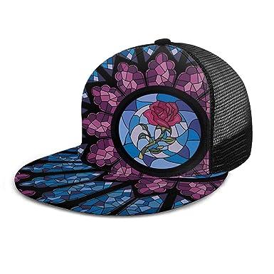 Gorra de béisbol de Cristal teñido con diseño de Rosas, Gorras de ...