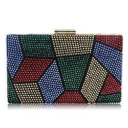 Women's Crystal Rhinestone Glitter Clutch
