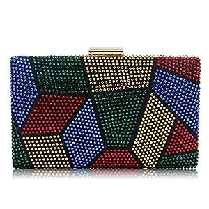 Sparkling Clutch Crystal Prom Handbag