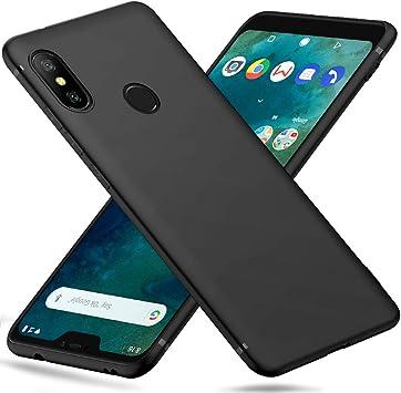 Peakally Funda Xiaomi Mi A2 Lite/Redmi 6 Pro, Negro TPU Suave ...