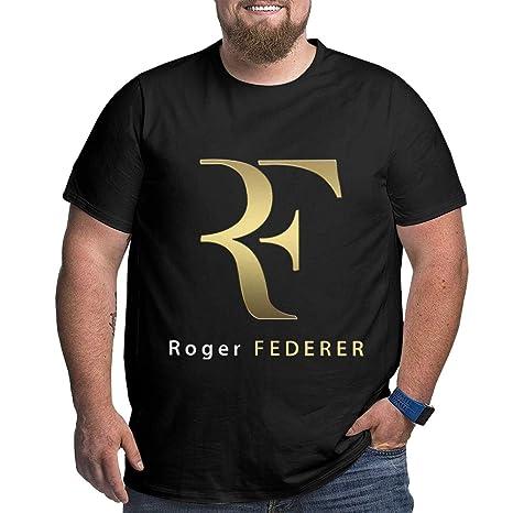 Eivan Roger Federer - Camiseta de Manga Corta para Hombre, Cuello ...