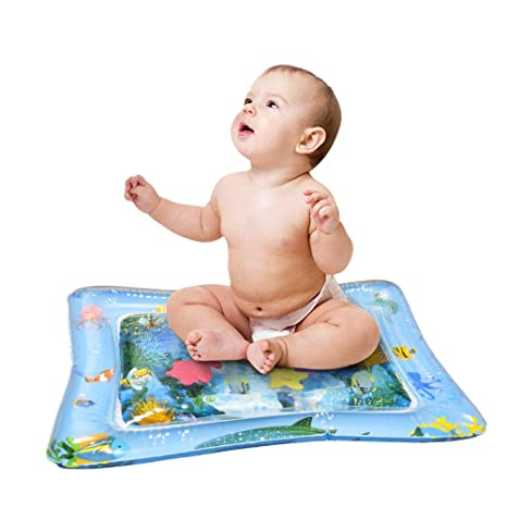Inflable del Bebé Estera de Agua, Bebé Inflable Patted Pad de Juegos de Actividades Divertidas Para Bebés y Niños Cojín de Agua Inflable Para Bebé