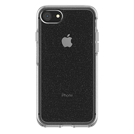 super popular 77a85 2a3ce OtterBox Symmetry Series compatible with Apple iPhone 7/8 (Not for iPhone 7  Plus / 8 Plus) (Stardust) (Renewed)
