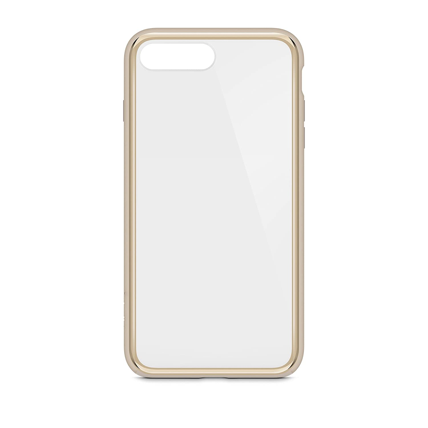 1d93c2a832 Amazon.com: Belkin SheerForce Elite Protective Case for iPhone 8 Plus and  iPhone 7 Plus (Gold): Cell Phones & Accessories