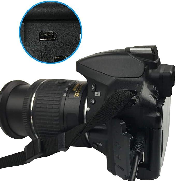 Panasonic Lumix DMC-FS28 cámara USB Data Sync Cable//Plomo Para Pc Y Mac