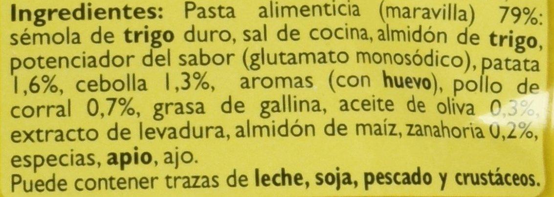 Gallina Blanca Sopa De Pollo Con Maravilla - 85 G: Amazon.es: Amazon Pantry