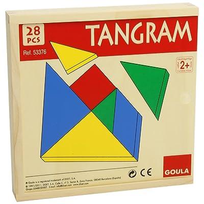 Jumbo Goula Tangram Puzzle: Toys & Games