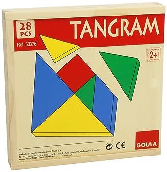 Goula Tangram Juego Educativo Diset 53376