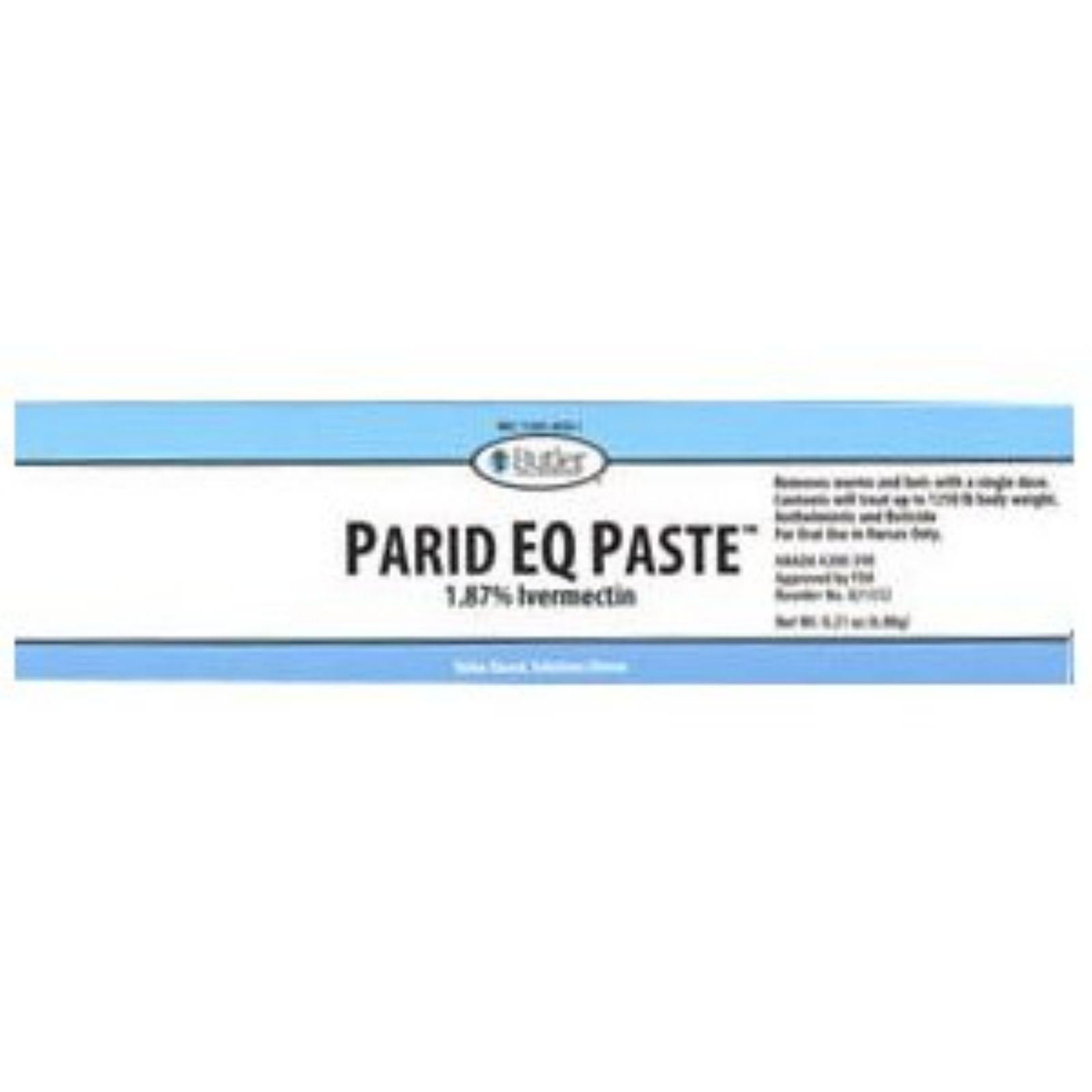 Parid EQ (1.87% Ivermectin) Paste