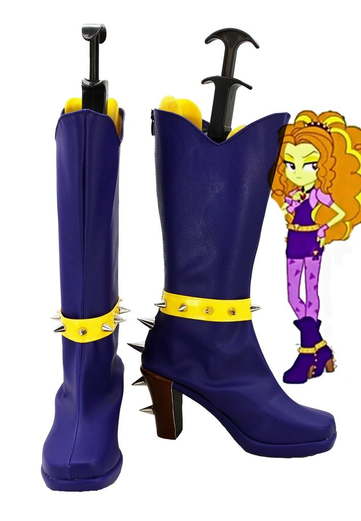 My Little Pony Equestria Girls Rainbow Rocks Adagio Dazzle Cosplay Shoes Boots Custom Made 5 D(M) US Male
