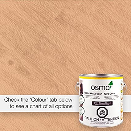 Osmo Wood Wax Finish 375ml 3102 Lightly Steamed Beech Stain