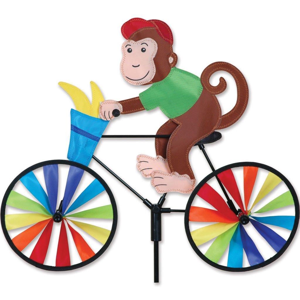 Premier Kites 20 in. Bike Spinner - Monkey by Premier Kites