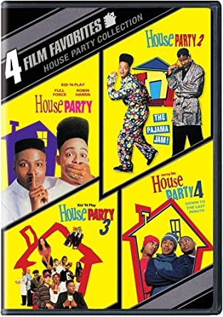 Captivating 4 Film Favorites: House Party (House Party, House Party 2, House Party