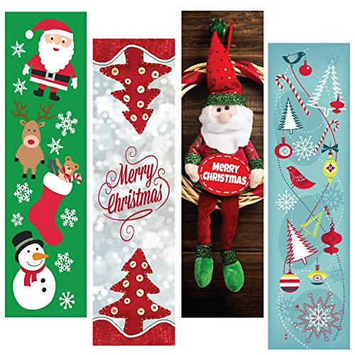 (Christmas Holiday Bookmark Bulk Variety Pack - 48 Bookmarks - Party Favors - Stocking Stuffers - Student Gifts - for Kids or Adults)