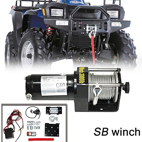 VIOJI 3000lb / 1361kg Capacity 12V 1.0kw Electric Recover...