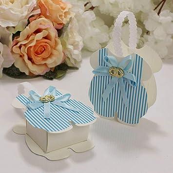 MNHJG Bolsa de Regalo 12 Piezas Rosa/Azul Regalo Baby Shower ...