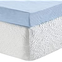 """Classic Brands Gel Memory Foam 3"""" Mattress Topper"""